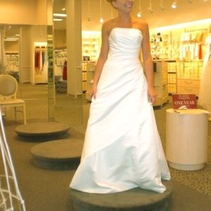 Brand New with tags white wedding Dress